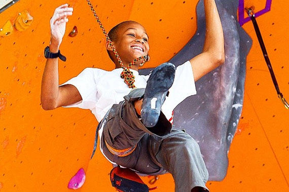 Climber Spotlight: Kai Lightner