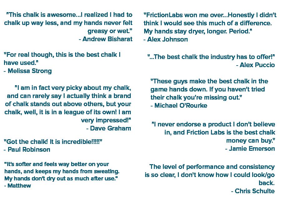 climber feedback