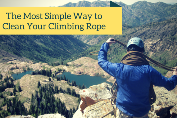 How to Clean a Dirty Rock Climbing Rope