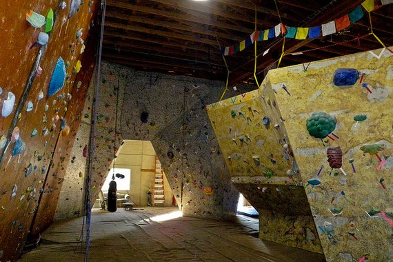 The Refuge of Climbing Gyms