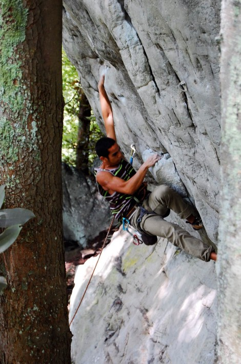 the new river gorge climbing