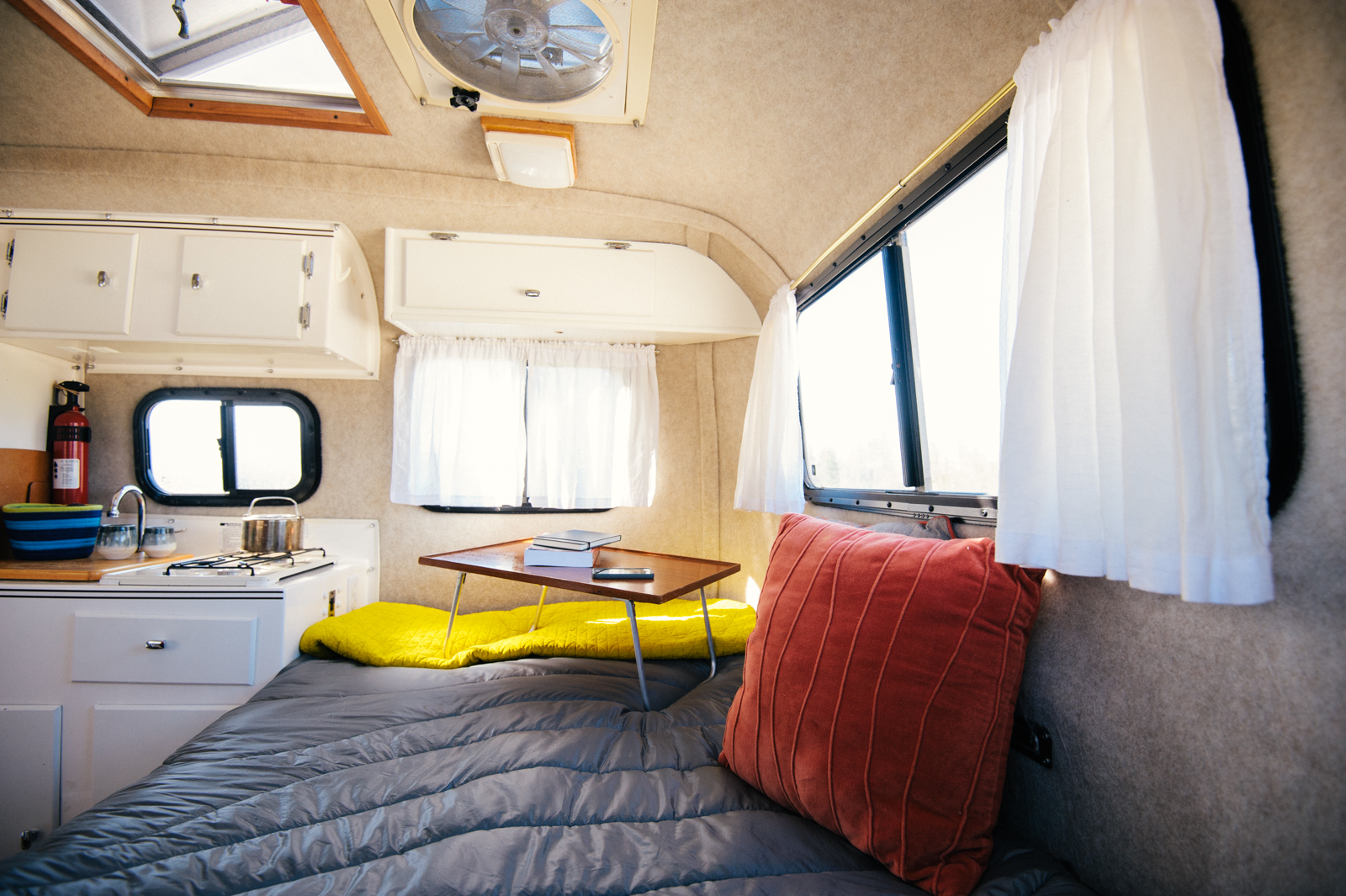 Dirtbag Dwellings Meet The Quot Egg Quot A Renovated Scamp Rv
