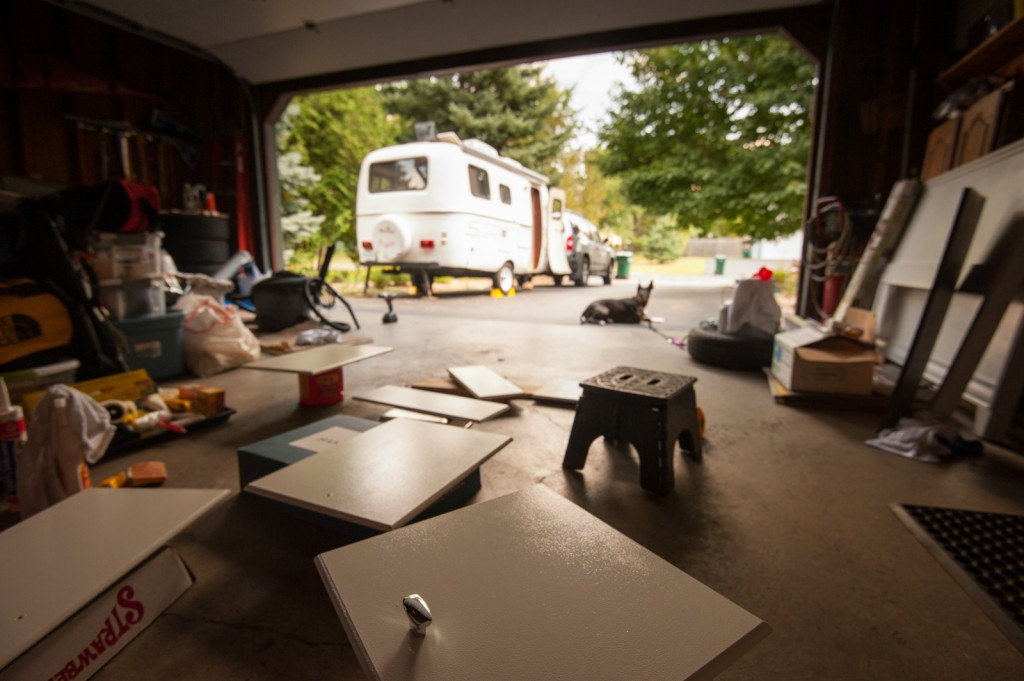Revamping the Scamp trailer