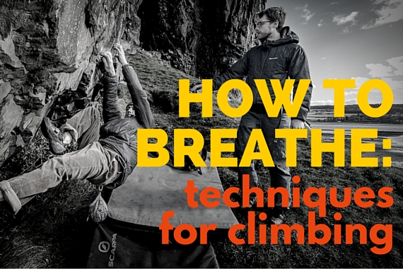how to breathe for rock climbing