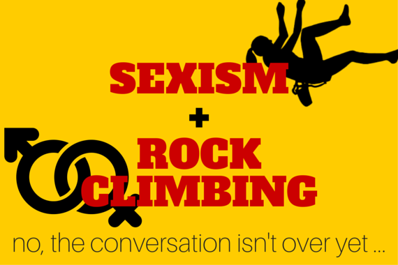 sexism and rock climbing