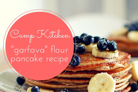 Camp Kitchen: Grain Free, Gluten-Free Garbanzo Fava Pancakes (Say What!?)
