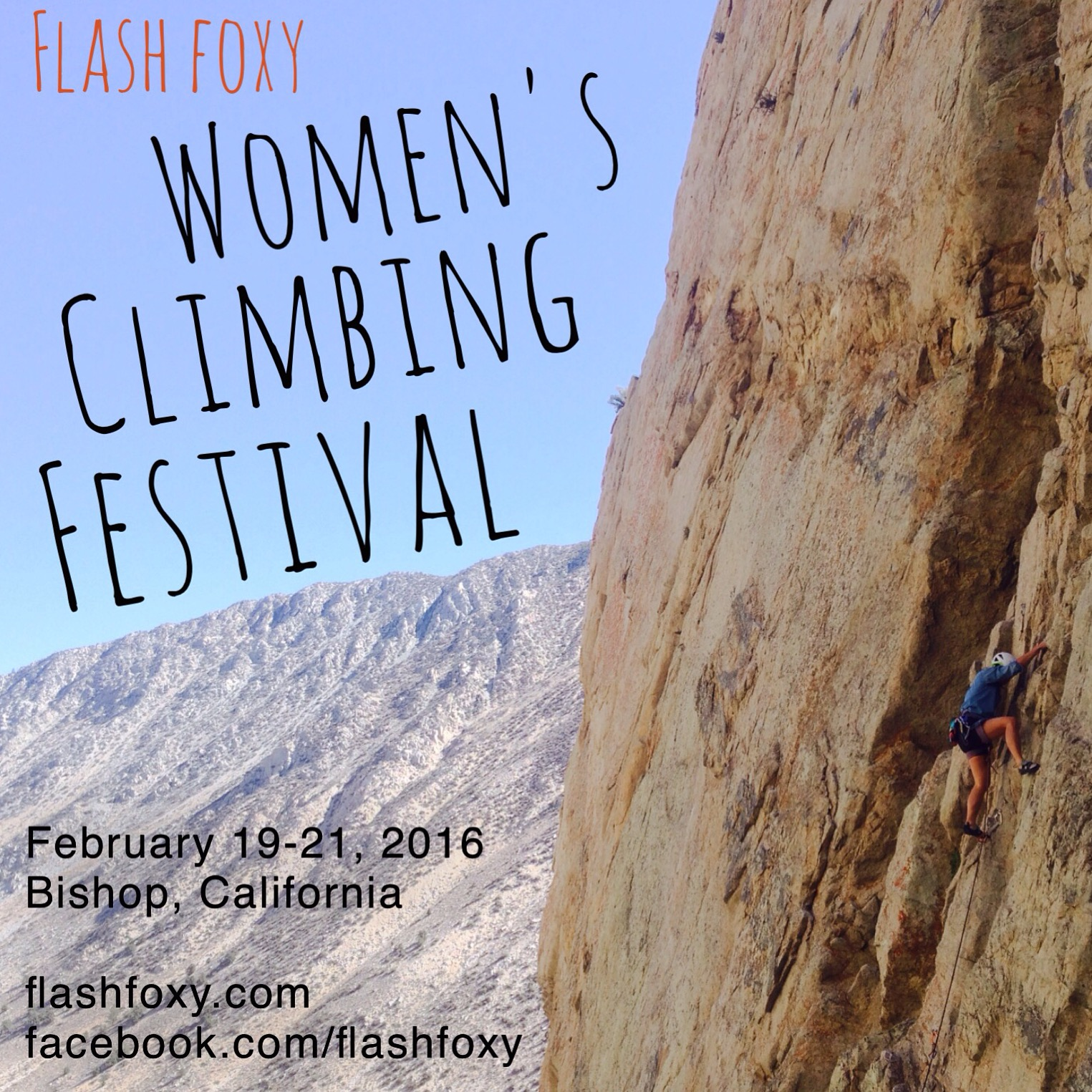 Flash Foxy Women's Climbing Festival