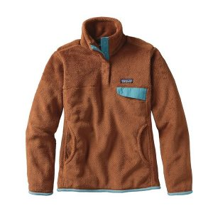 Patagonia Women's Re-Tool Snap-T Fleece Pullover Saddle