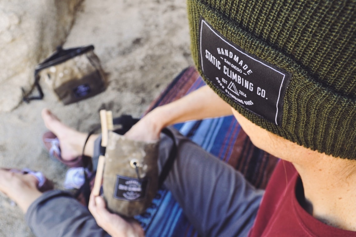 Are These Climbing's Best Chalk Bags? Introducing STATIC + Moja Gear