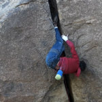 Mason Earle's First Ascent Battle With Outrageous Offwidth Crack Climb